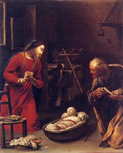Giuseppe Maria Crespi - Die heilige Familie