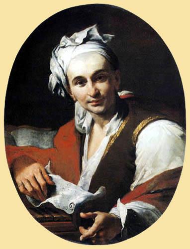 Luigi Crespi - Portrait of a musician
