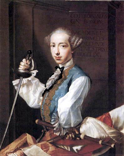 Luigi Crespi - Portrait of Ferdinando Gini