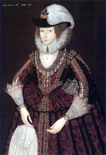 John de Critz - Portrait of a Woman