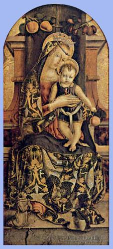 Carlo Crivelli - Madonna with child
