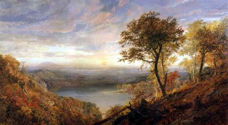 Jasper Francis Cropsey - Greenwood Lake