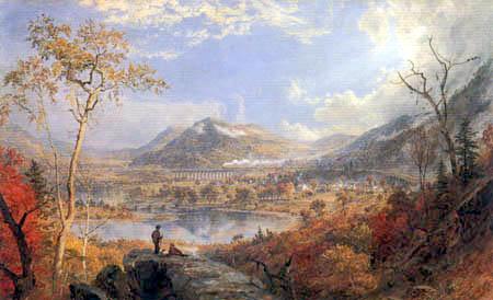 Jasper Francis Cropsey - Starrucca - Viadukt, Pennsylvania