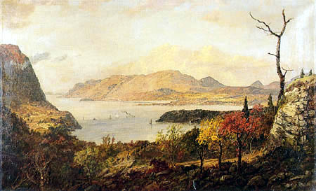Jasper Francis Cropsey - Fort Putnam on the Hudson