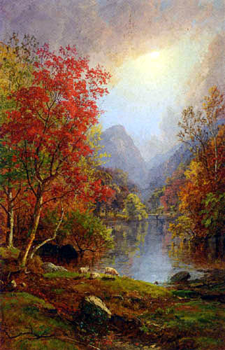 Jasper Francis Cropsey - In the Ramapo Valley