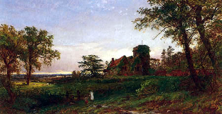 Jasper Francis Cropsey - View of Stoke Poges