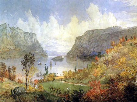 Jasper Francis Cropsey - Hudson River