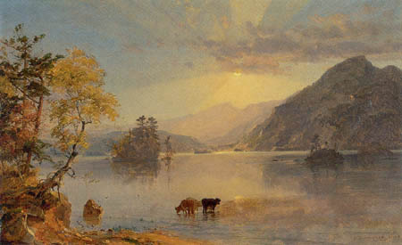 Jasper Francis Cropsey - Lake George