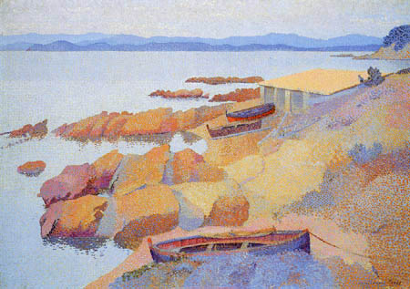 Henri Edmond Cross - Küste bei Antibes
