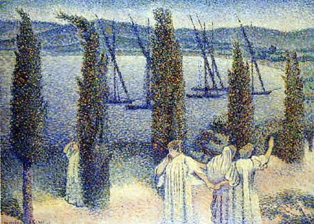 Henri Edmond Cross - Küste bei Zypern