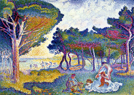 Henri Edmond Cross - Mediterranean shores