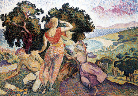 Henri Edmond Cross - Étude pour Excursion