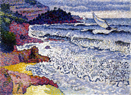 Henri Edmond Cross - Das schäumende Meer