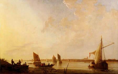 Aelbert Cuyp - Dordrecht, Sonnenaufgang