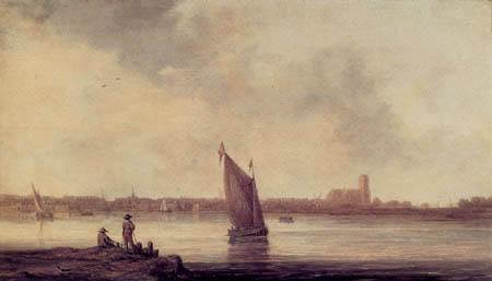 Aelbert Cuyp - Ansicht von Dordrecht