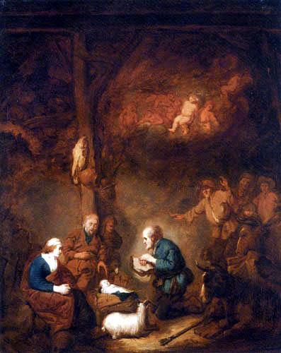 Benjamin Gerritsz. Cuyp - L'Adoration des bergers