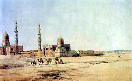 Richard Dadd - The caliph graves in Cairo