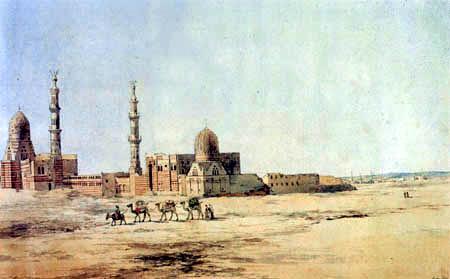 Richard Dadd - Die Kalifengräber in Kairo