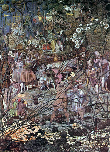 Richard Dadd - The Luck of the Charm forest