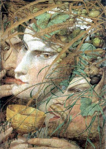 Richard Dadd - Bacchanalian Scene