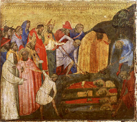 Bernardo Daddi - The Finding of the Saints