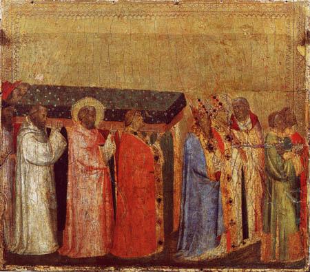 Bernardo Daddi - Translation der Reliquien