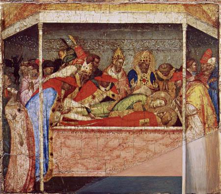Bernardo Daddi - Laid out in Rome