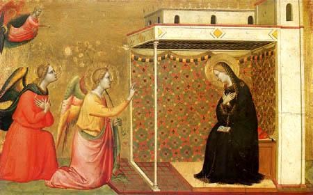 Bernardo Daddi - Annunciation