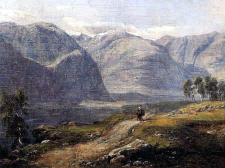 Johan Christian Dahl - Norwegian Landscape