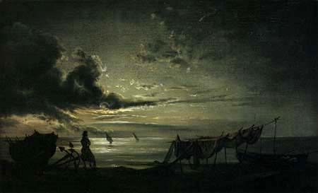 Johan Christian Dahl - The Gulf of Naples