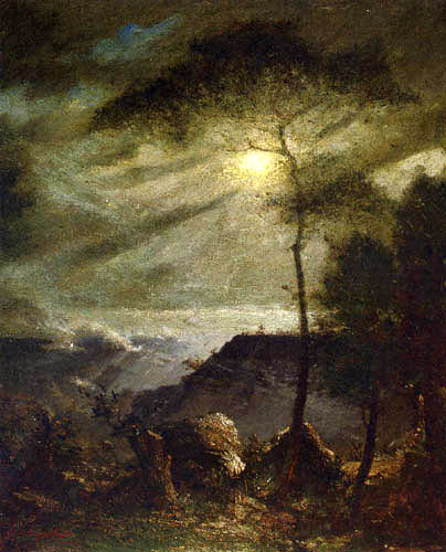 Elliott Daingerfield - Grand Canyon, Moonlight