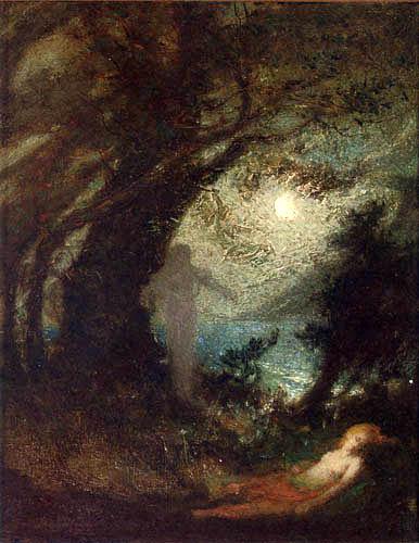 Elliott Daingerfield - The Spirit of the Night