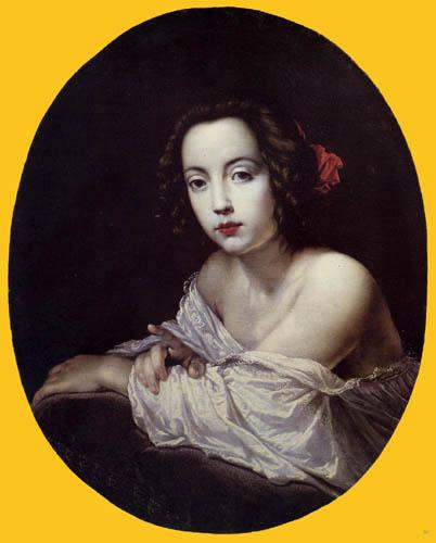 Cesare Dandini - Portrait of Checca Costa