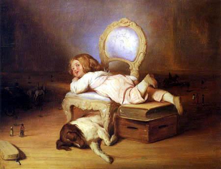 Josef Danhauser - Das Kind und seine Welt