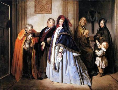 Josef Danhauser - Der Pfennig der Witwe