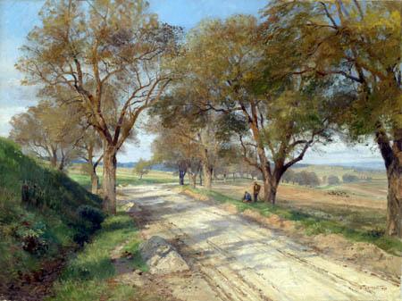 Hugo Darnaut - Landstraße bei Plankenberg