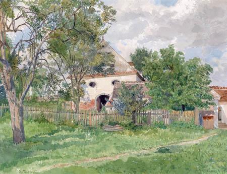 Hugo Darnaut - Garden in Plankenberg