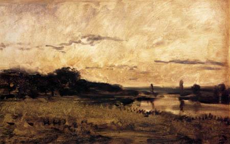 Charles-François Daubigny - Ufer der Oise