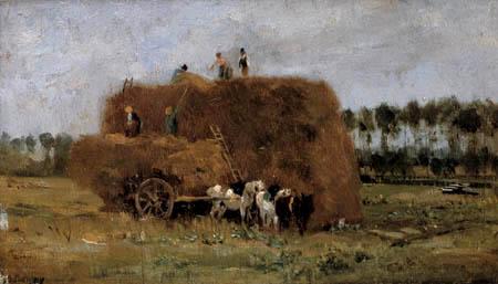 Charles-François Daubigny - Hay stack