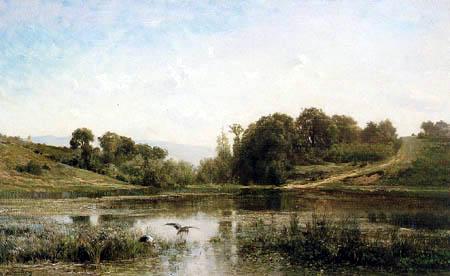 Charles-François Daubigny - Les Etangs de Gylieu