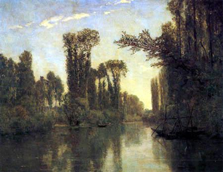 Charles-François Daubigny - The island of the love