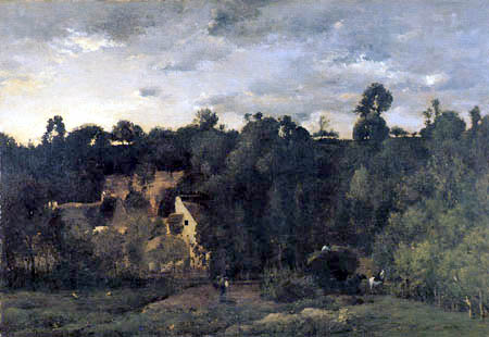 Charles-François Daubigny - Paysage de Pontoise