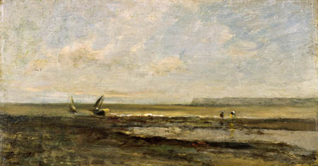 Charles-François Daubigny - Strandszene