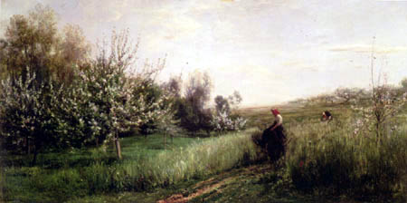 Charles-François Daubigny - Le printemps