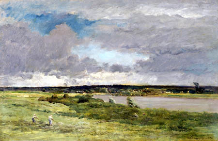 Charles-François Daubigny - The Coming Storm, Early Spring