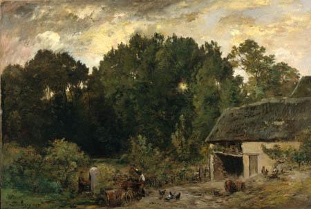 Charles-François Daubigny - Der Fassbinder