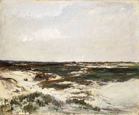 Charles-François Daubigny - The Dunes at Camiers