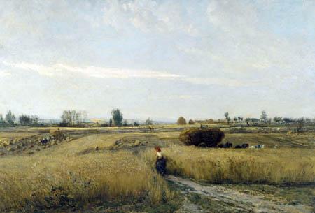 Charles-François Daubigny - Erntezeit