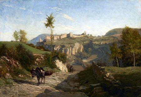 Charles-François Daubigny - Landschaft von Crémieu