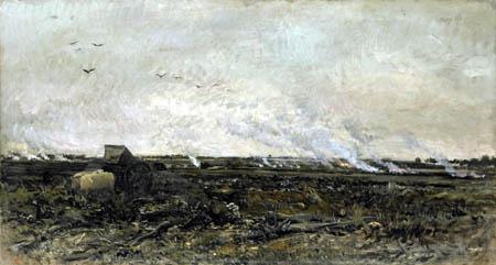 Charles-François Daubigny - Octobre